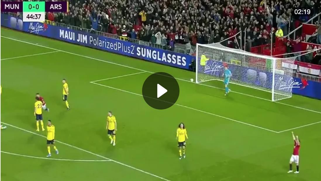 ไฮไลท์พรีเมียร์ลีก 2019-20 แมนเชสเตอร์ ยูไนเต็ด 1-1 อาร์เซนอล