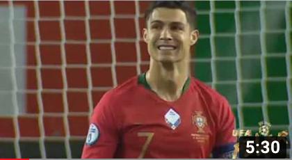 ไฮไลท์ฟุตบอลยูโร โปรตุเกส 6-0 ลิธัวเนีย