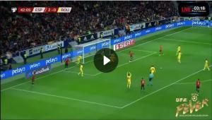 ไฮไลท์ฟุตบอลยูโร สเปน 5-0 โรมาเนีย