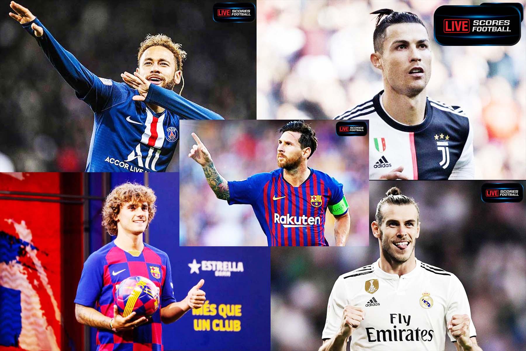 รับเละ!  5 นักเตะที่ทำรายได้เยอะที่สุดในปี 2019 เปิดเผยโดยนิตยสาร France Football