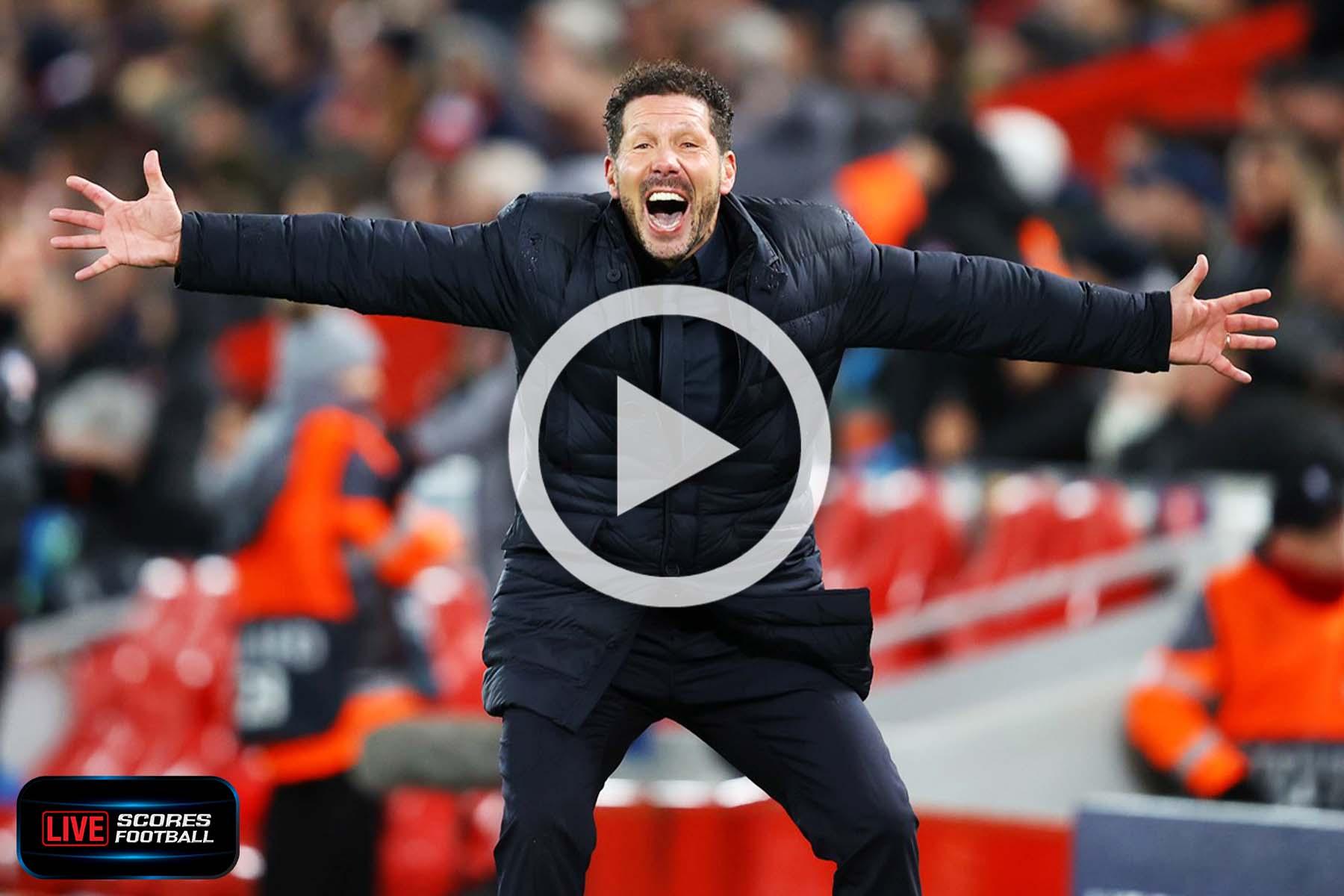 ไฮไลท์ UCL 2019-20 ลิเวอร์พูล 2-3 แอตเลติโก มาดริด นัดที่2 รอบ 16 ทีม 11-3-2020 - livescores
