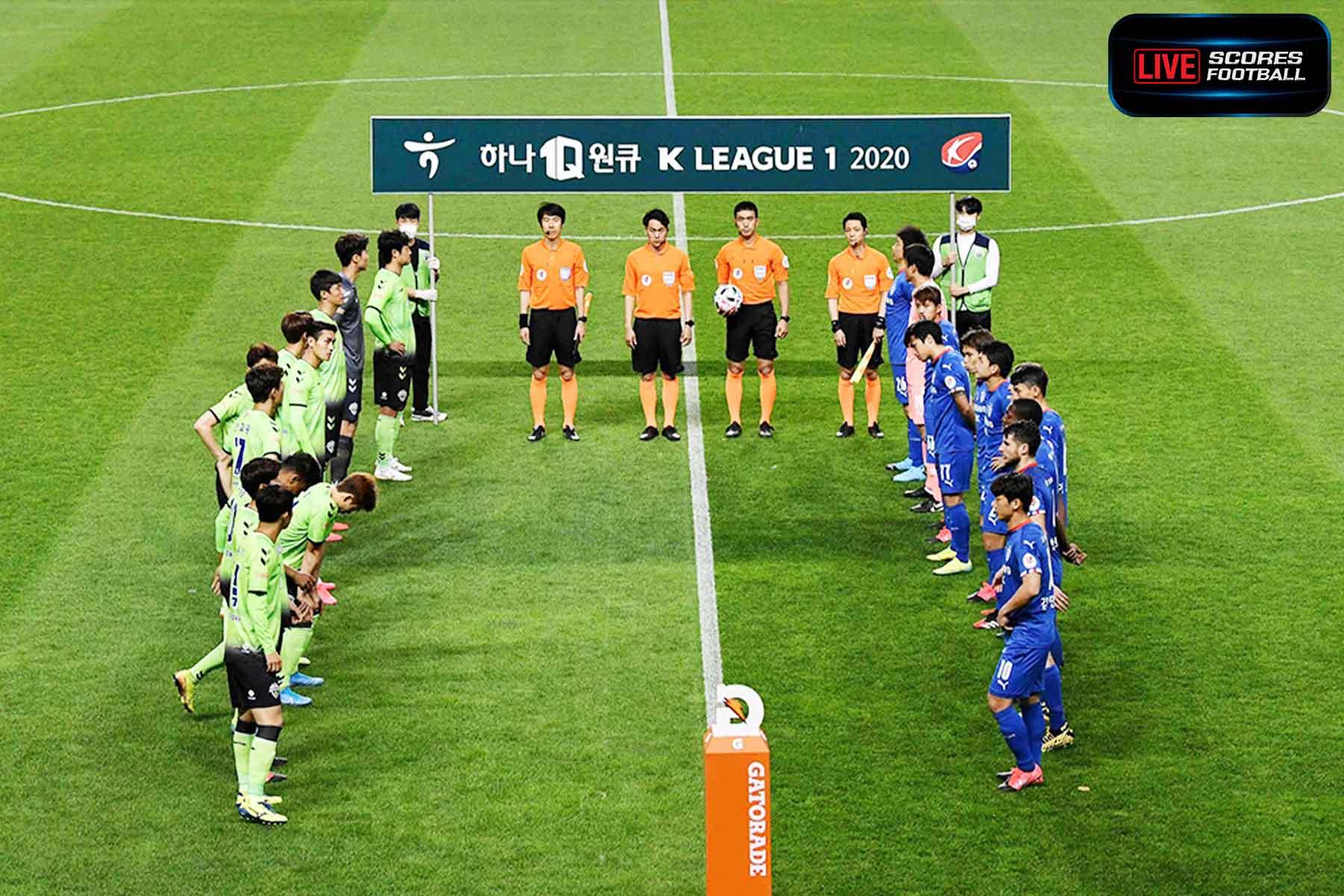 Read more about the article ฟุตบอลเกาหลีใต้เริ่มแข่งขันได้แล้วในวันที่ 8 พ.ค.63