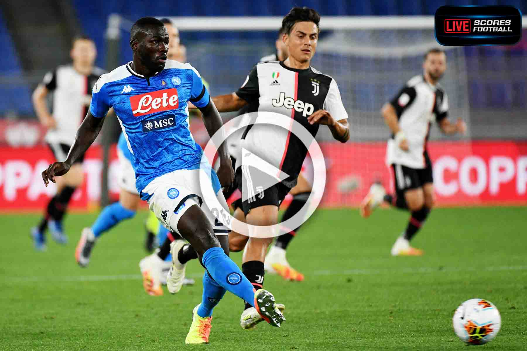 ไฮไลท์คู่เด็ด COPPA ITALIA นาโปลี 0-0 ยูเวนตุส (จุดโทษ 4-2 ) 17-6-2020
