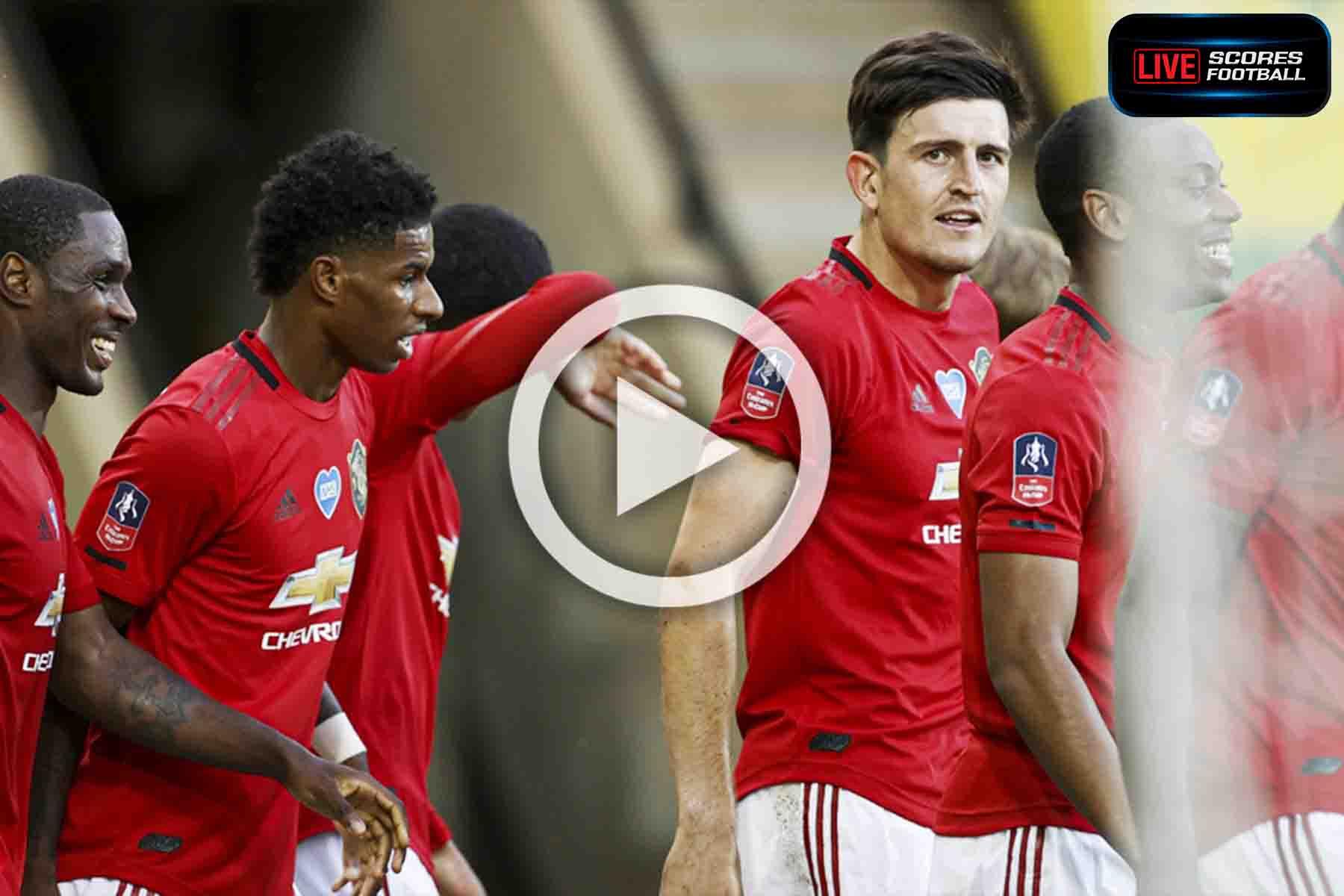 ไฮไลท์คู่เด็ด FA Cup นอริชซิตี 1-2 แมนเชสเตอร์ยูไนเต็ด วันที่ 27-6-2020 - LivescoresFB