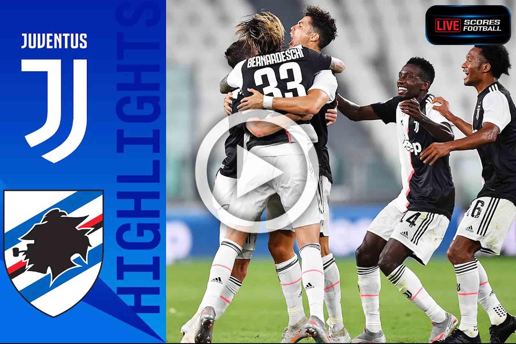 ไฮไลท์คู่เด็ด รวมลีกดังยุโรป(กัลโช่ ซีรีย์ อา)อิตาลี ยูเวนตุส 2-0 ซามพ์โดเรีย วันที่ 27-7-2020