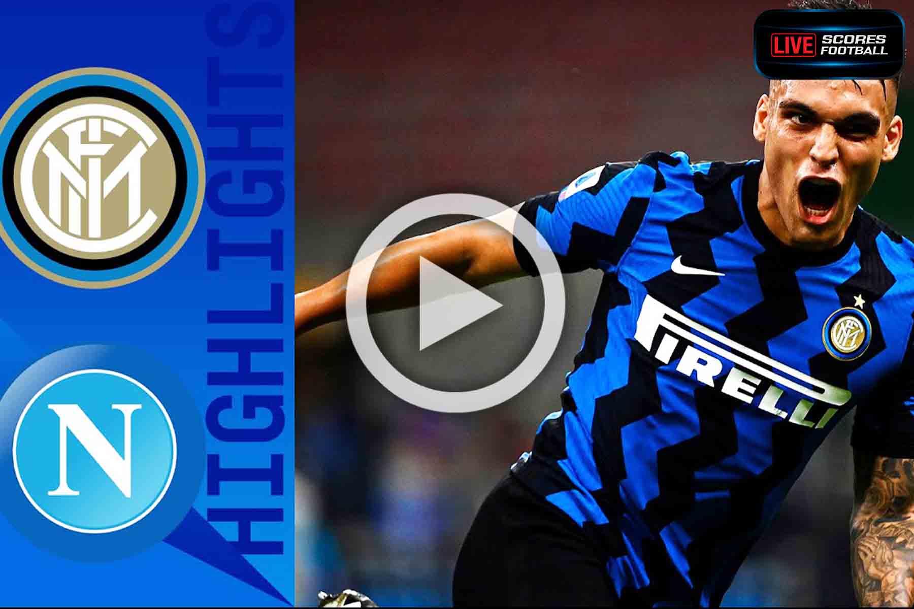 ไฮไลท์คู่เด็ด รวมลีกดังยุโรป(กัลโช่ ซีรีย์ อา)อิตาลี อินเตอร์ มิลาน 2-0 นาโปลี วันที่ 28-7-2020