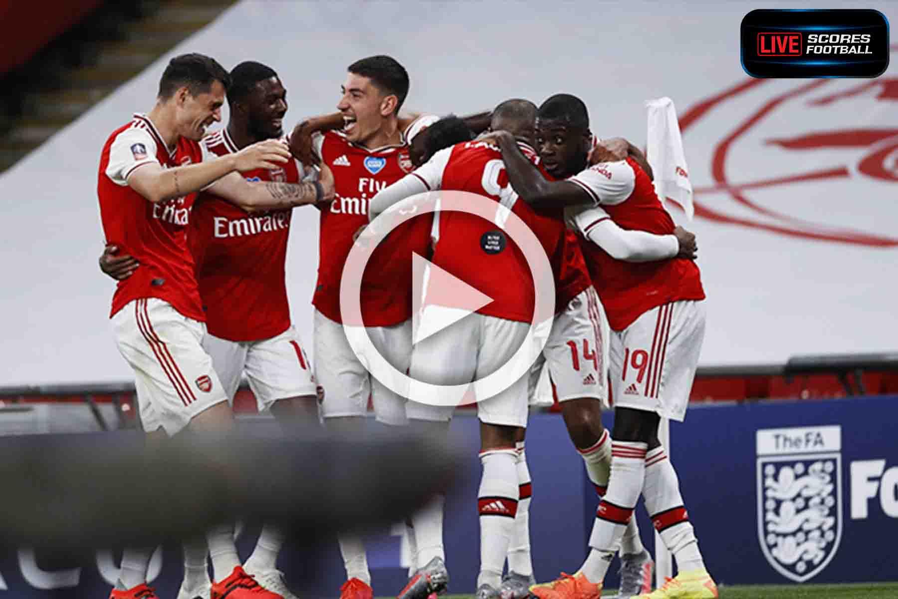 ไฮไลท์คู่เด็ด FA Cup อาร์เซน่อล 2-0 แมนฯ ซิตี้ วันที่ 18-7-2020 - LivescoresFB