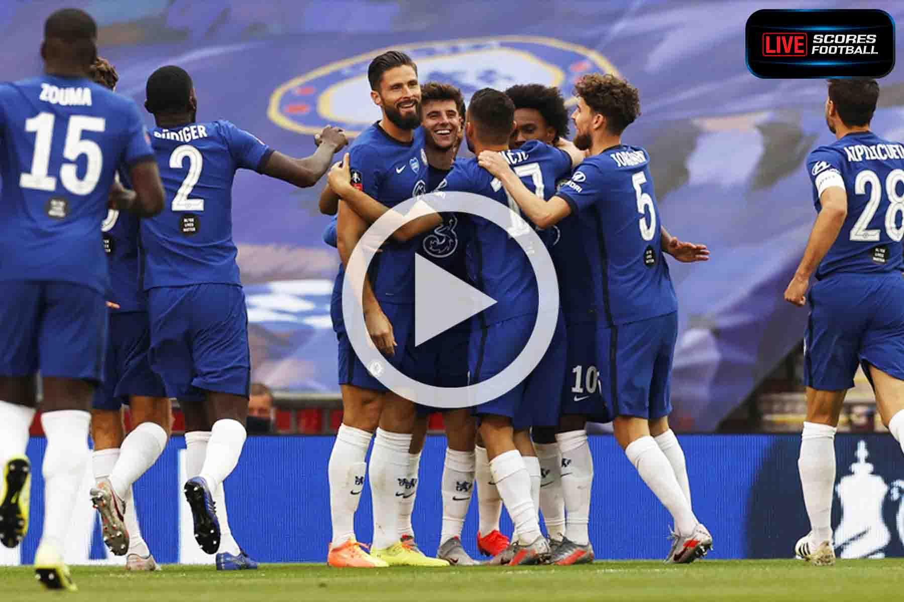 ไฮไลท์คู่เด็ด FA Cup แมนฯ ยูไนเต็ด 1-3 เชลซี วันที่ 19-7-2020 - LivescoresFB