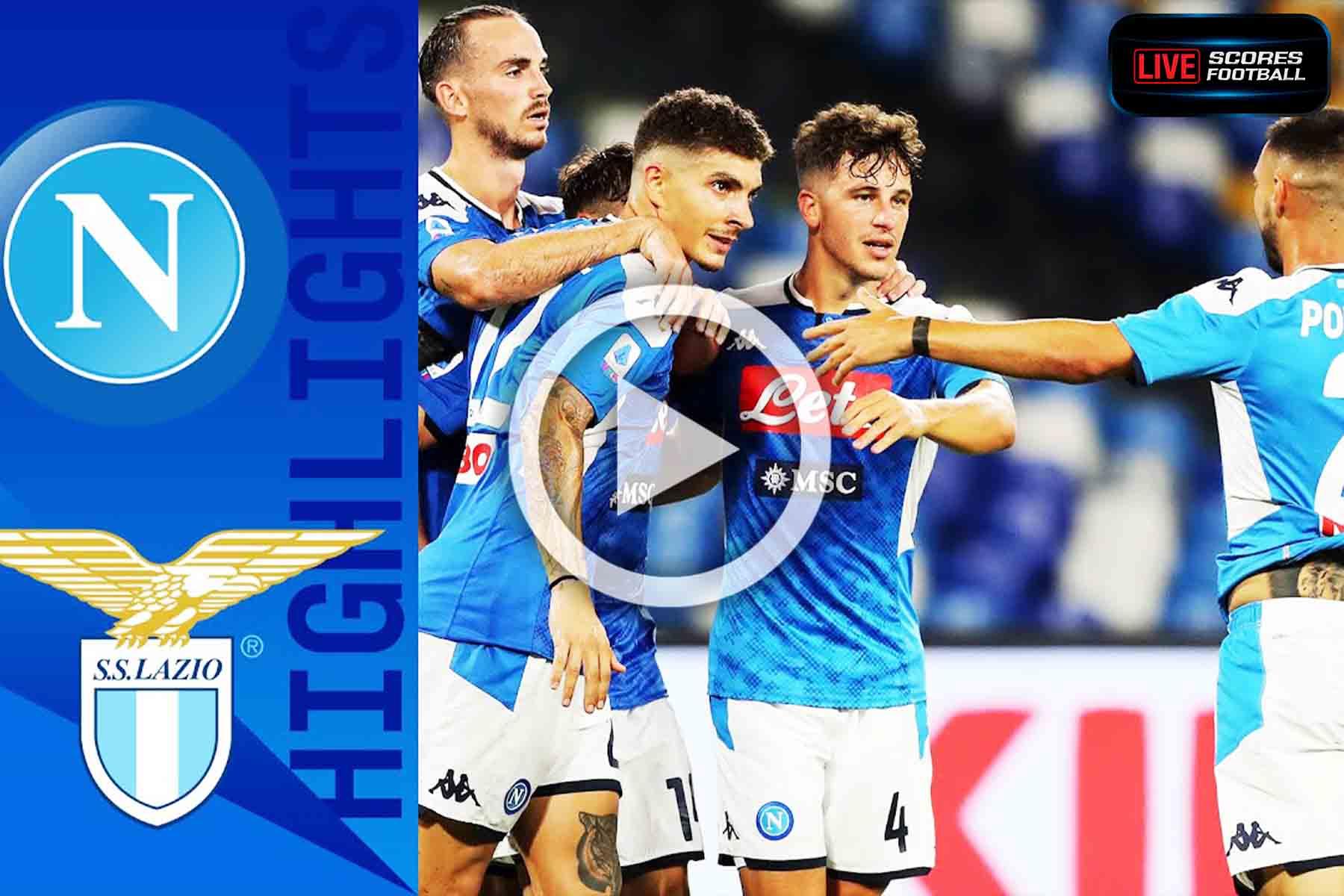 Read more about the article ไฮไลท์คู่เด็ด รวมลีกดังยุโรป(กัลโช่ ซีรีย์ อา)อิตาลี นาโปลี 3-1 ลาซิโอ วันที่ 1-8-2020