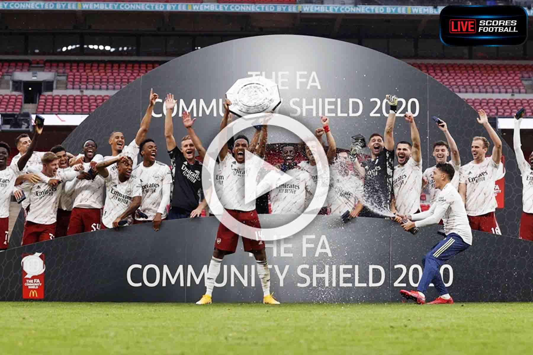 ไฮไลท์คู่เด็ด FA Community Shield 2020 อาร์เซน่อล 1-1 ลิเวอร์พูล (จุดโทษ 5-4) - LivescoresFB