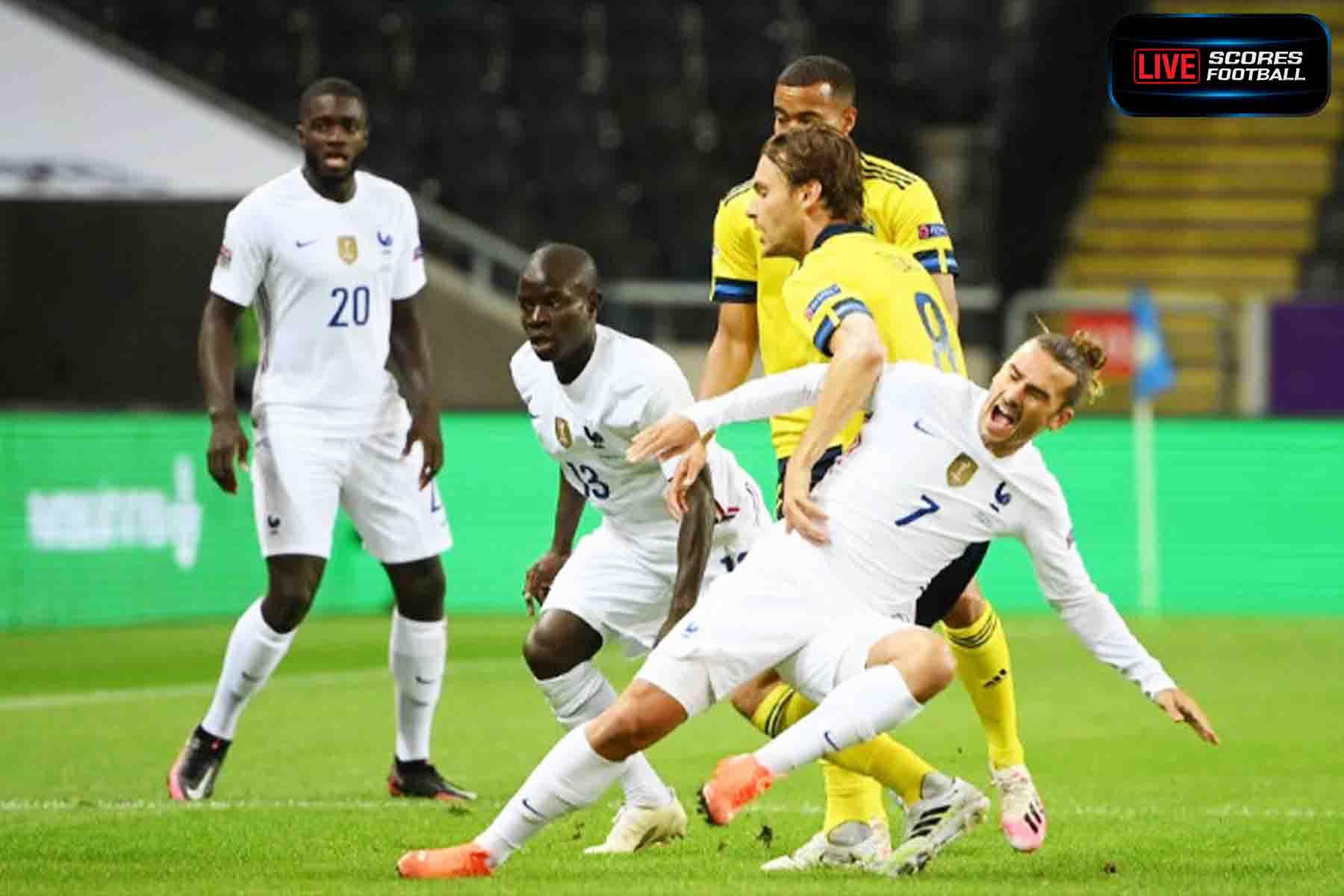 ฟุตบอลยูฟ่าเนชั่นลีก กรีซมันส์พลาดจุดโทษ ฝรั่งเศสบุกซิว สวีเดน 1-0