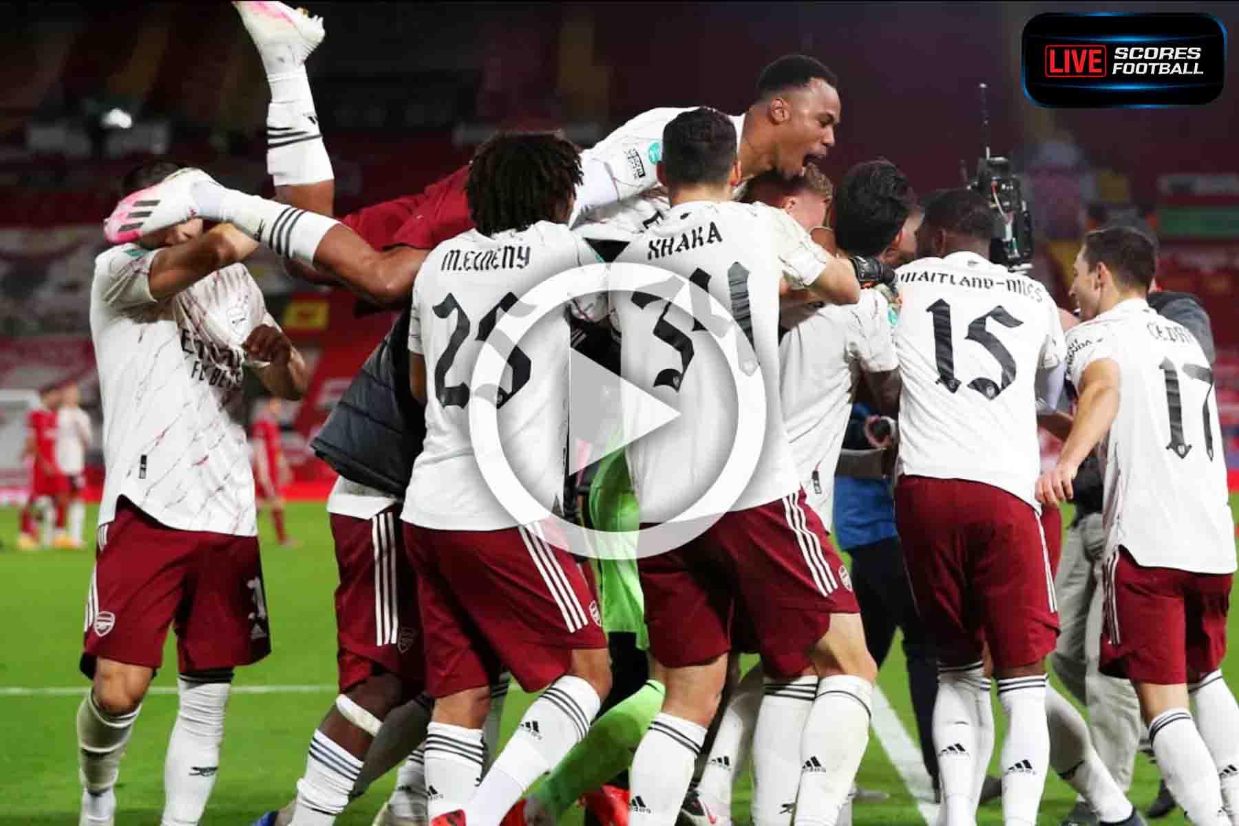 ไฮไลท์คู่เด็ด Carabao Cup ลิเวอร์พูล 0-0 อาร์เซน่อล (ลูกโทษ 4-5) วันที่ 1-10-2020 - LivescoresFB
