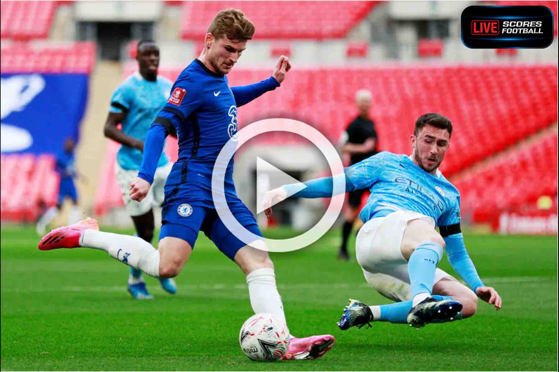 ไฮไลท์คู่เด็ด FA Cup 20:21 เชลซี 1-0 แมนฯ ซิตี้ รอบรองชนะเลิศ วันที่ 17-4-2021 - LivescoresFB