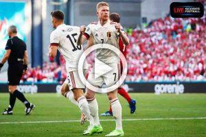 Read more about the article ไฮไลท์คู่เด็ด ฟุตบอลยูโร 2020 (กลุ่มB) เดนมาร์ก 1-2 เบลเยียม  /// 17-6-2021