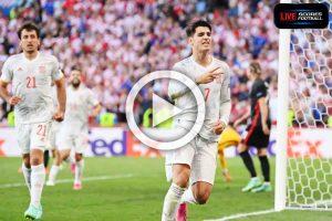 Read more about the article ไฮไลท์คู่เด็ด ฟุตบอล ยูโร 2020 (รอบ16ทีม) โครเอเชีย 3-5 สเปน /// 28-6-2021