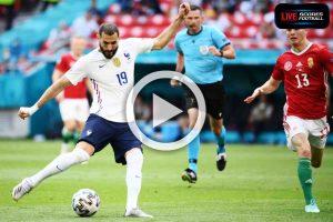 Read more about the article ไฮไลท์คู่เด็ด ฟุตบอล ยูโร2020 (กลุ่มF) ฮังการี 1-1 ฝรั่งเศส /// 19-6-2021