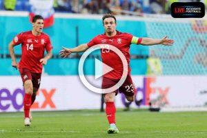 ไฮไลท์คู่เด็ด ฟุตบอล ยูโร 2020 (รอบ8ทีม) สวิตเซอร์แลนด์ 1-1 สเปน (จุดโทษ 1-3) ::: 2-7-2021