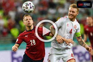 ไฮไลท์คู่เด็ด ฟุตบอล ยูโร 2020 (รอบ8ทีม) สาธารณรัฐเช็ก 1-2 เดนมาร์ก : 3-7-2021